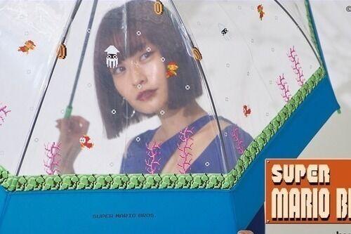 Wpc.「スーパーマリオブラザーズ」のレイングッズ再販へ、マリオ&ルイージのビニール傘や日傘