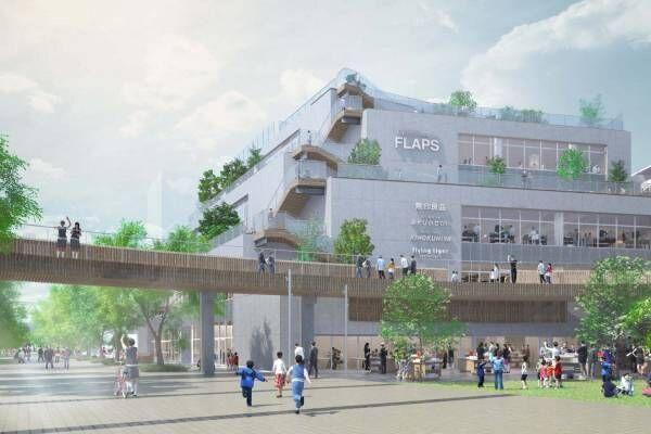千葉の流山おおたかの森駅周辺の新規開発「流山おおたかの森S・C フラップス」誕生