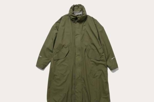 ハイクのユナイテッドアローズ別注コート、防水透湿性能&2WAY仕様
