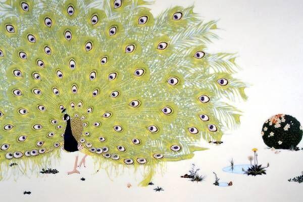 「原美術館ARC」初の展覧会、奈良美智・宮島達男らの現代美術~狩野派の日本画など古美術