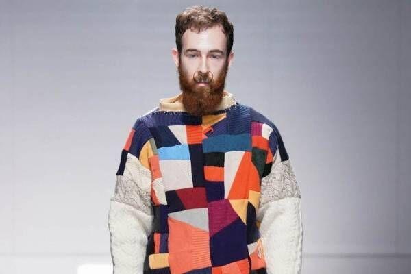 ニサイ 2021-22年秋冬コレクション - 雨上がりに架かる虹の先で生まれた一点物の服