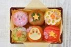 """カービィカフェの""""お花見ピクニック""""メニュー、カービィを桜の葉で包んだ桜餅やてまり寿司など"""