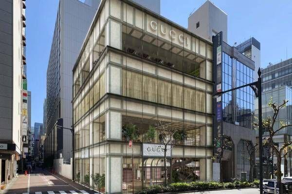 「グッチ並木」銀座・並木通りに新旗艦店、日本初オーダーメイドサロンやレストラン併設