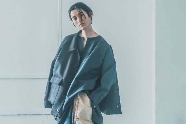 カイキ 2021-22年秋冬コレクション - 素材とシルエットで魅せる緩やかなリラックスムード