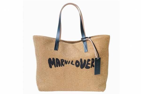 """マルニ""""愛のメッセージ""""がアイコンの限定バッグ&Tシャツ、ブランド初限定ストアが渋谷パルコに"""