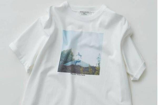 スナイデル「メリーゴーランド&線香花火」モチーフのTシャツ、人気フォトグラファーとコラボ