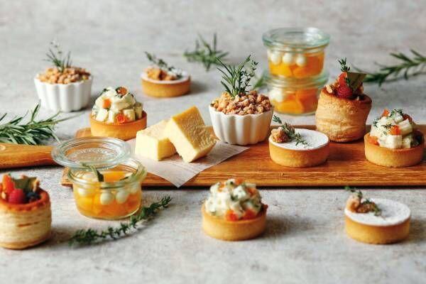 「チーズデザートブッフェ」ウェスティンホテル東京で、マスカルポーネなど10種のチーズを使ったスイーツ