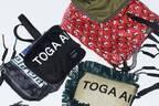 トーガ × ポーターのコラボバッグ第3弾、バンダナ柄トート&ラフィア素材のスクエアバッグなど