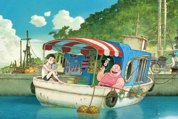 劇場アニメ映画『漁港の肉子ちゃん』明石家さんまプロデュース、漁港で暮らす母娘の感動ストーリー