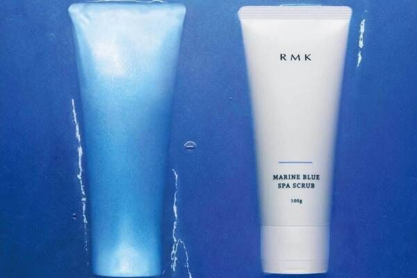 """RMK21年夏スキンケア「マリンブルー スパスクラブ」""""うっとり""""ジェル洗顔でつるんと素肌へ"""