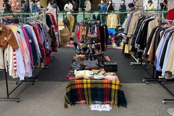 「下北沢古着マーケット」下北沢駅前広場に古着屋15店舗が集結