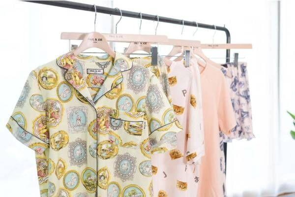 ポール & ジョー21年春夏ルームウェア、メダイユ柄&ねこのヌネット柄パジャマやワンピなど