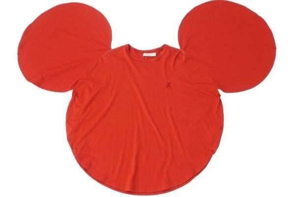 """""""着るミッキーマウス!?""""ミッキーの顔型Tシャツ、アンリアレイジとメゾンサークルがコラボ"""