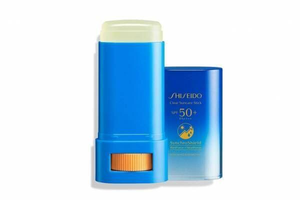 SHISEIDO透明スティック日やけ止め「クリア サンケア スティック」直接肌に塗れるお手軽UV