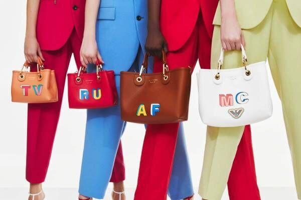 エンポリオ アルマーニ「MyEA」バッグに新作、東京・大阪でカスタマイズイベントも