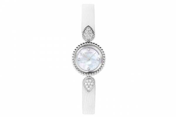 ブシュロン「セルパンボエム」腕時計に新作、ダイヤモンド輝くマザーオブパールダイヤル