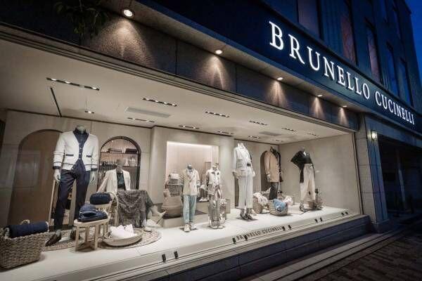 ブルネロ クチネリが表参道に日本最大旗艦店、スーツのオーダーメイドブースやアートスペースも