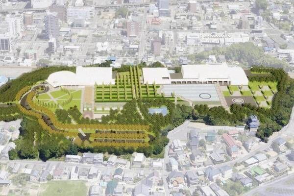 「豊田市博物館(仮称)」が豊田東高等学校跡地に2024年秋オープン、既存美術館と併設で