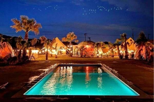 プール付きグランピングリゾート「イースト コースト ファイン グランピング 茨城ひたちなか」誕生