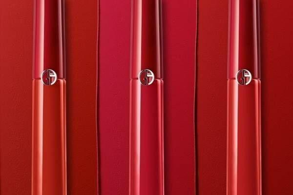 アルマーニ ビューティ21年夏「リップ マエストロ オリジナル」原点を辿る大胆レッドや洗練ピンク