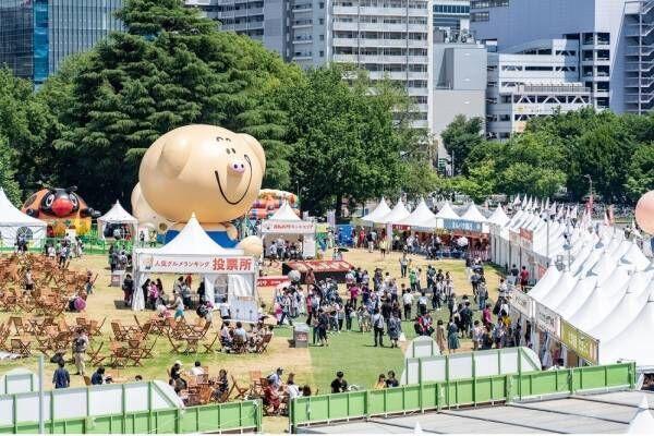 【開催中止】日本最大級の野外フードフェス「まんパク」国営昭和記念公園で