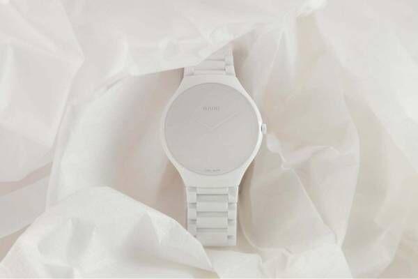 """ラドー""""真っ白""""な新作腕時計、パーツや文字をワントーンに統一した究極のシンプルウォッチ"""