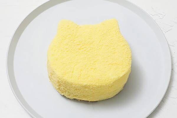 """ねこねこチーズケーキ新作「もふねこチーズケーキ」""""もふもふ""""生地&2層チーズ仕立ての濃厚くちどけ"""