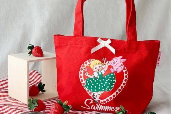 雑貨ブランド「スイマー」限定ストアが新宿・神戸・博多マルイに、真っ赤なランチトートなど