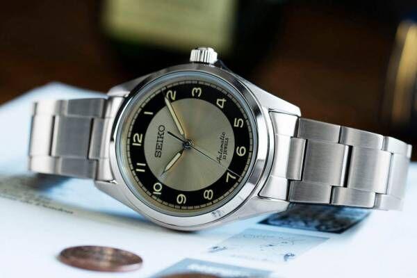 セイコー×チックタックのコラボ腕時計第2弾、クラシックな佇まいのメンズ向け機械式時計