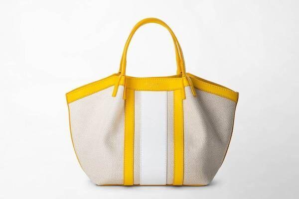 ミラノの老舗レザーブランド「セラピアン」キャンバス素材用いたトートバッグ&バックパック