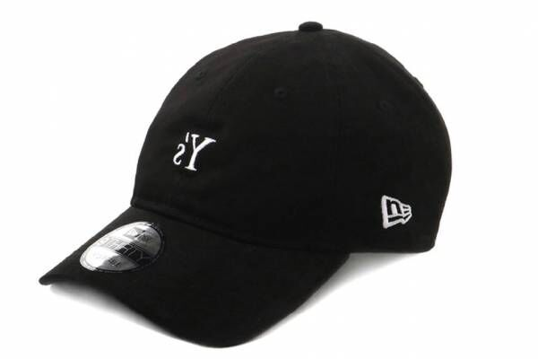Y's×ニューエラのキャップ、白の反転ロゴを刺繍したモノトーンカラー - Y's表参道限定で