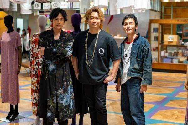 香取慎吾×祐真朋樹の「ヤンチェ_オンテンバール」丸の内に移転、香取のアート柄バカラタンブラーも