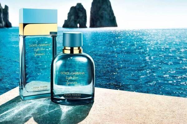 """ドルチェ&ガッバーナ新フレグランス「ライトブルー フォーエバー」""""海""""のように爽やかな香りで愛を表現"""