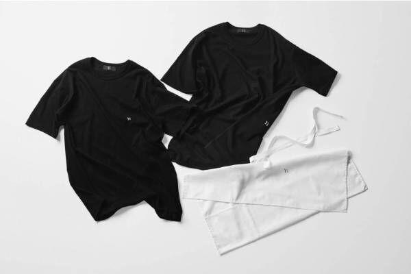 """Y's""""ロゴ入り""""2枚組Tシャツ&ガーメントバッグがセットで、「ラウンジウェア」新作"""