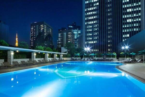 ANAインターコンチネンタルホテル東京の屋外プール「ガーデンプール」夏季限定でオープン