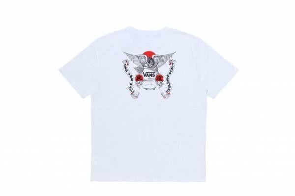 VANS「東京」の漢字デザイン入りTシャツ、日本人アーティスト・遊鷹&松山しげきとコラボ
