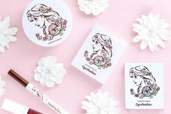 ディズニープリンセス「ラプンツェル」限定デザインコスメ、落ち着きピンクのティントリップなど