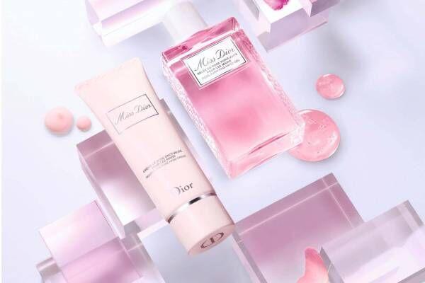 「ミス ディオール」の香りつき限定ハンドジェル、上品なローズの香り立ち&潤い効果も