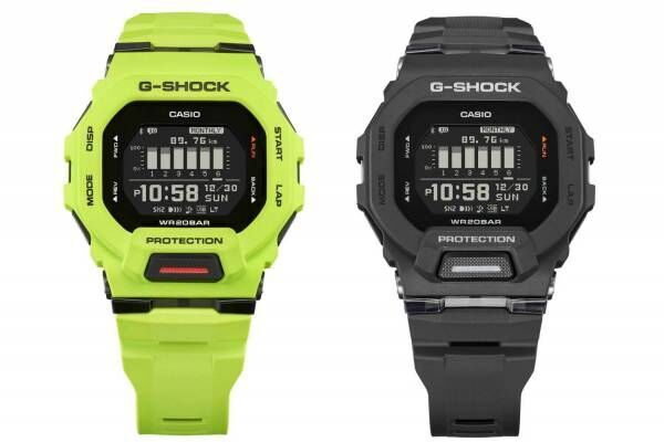 G-SHOCK「GBD-200」小型&薄型ケースの新作スポーツモデル