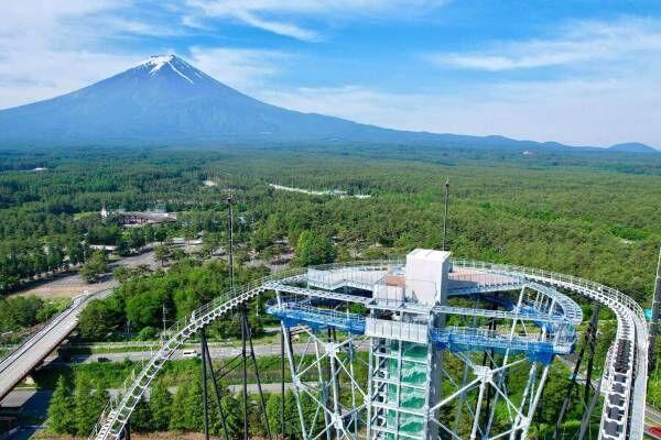 富士急ハイランドに高さ約55mの展望台「FUJIYAMAタワー」誕生、絶景&絶叫アクティビティも