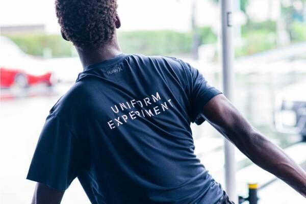 ユニフォーム エクスペリメント×ハーレー、ロゴ入り高機能Tシャツ&水陸両用ショーツ