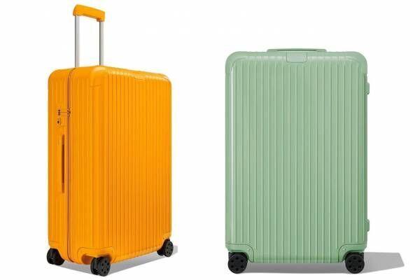 リモワのスーツケース「エッセンシャル」にマンゴー&竹をモチーフにした新色、タイの水上マーケットに着想