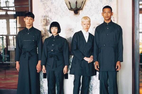 小野塚秋良のワークウェア「ハクイ(HAKUÏ)」2021年の新作は50年代リゾート地をテーマに
