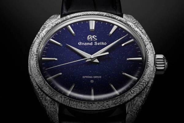 """グランドセイコー""""日本一美しい星空""""を表現した、セイコー創業140周年記念の限定腕時計"""