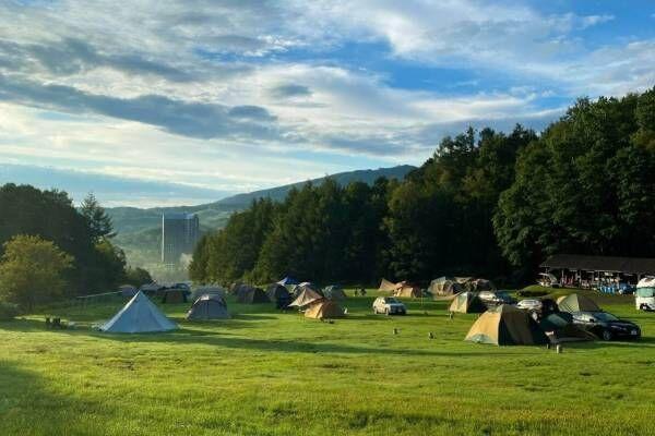 """北海道・ルスツリゾート""""手ぶらキャンプ""""OKの新施設「ルスツ山はともだちキャンプ場」無料で温泉も"""
