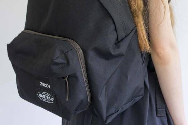 ズッカ×イーストパックの新作バックパック、ウエストバッグにもなる取り外しポケット