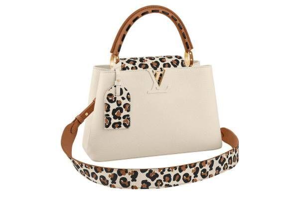 ルイ・ヴィトンの新作バッグ、アニマル・プリント×レザーの「カプシーヌ」や「ツイスト」