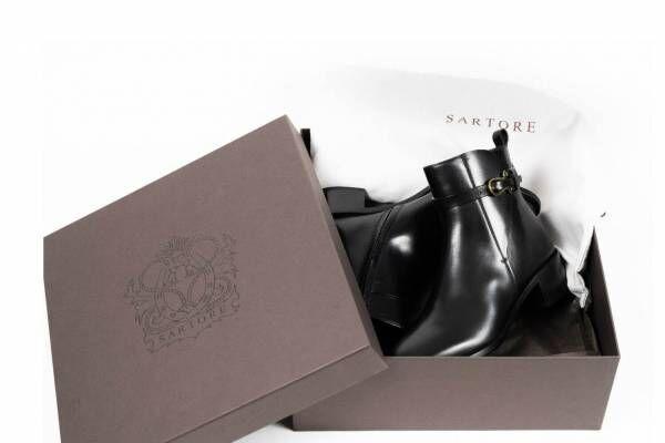 仏シューズ「サルトル」ベルト付ショートブーツ、約1万人の足型データから生まれたジャパンフィット