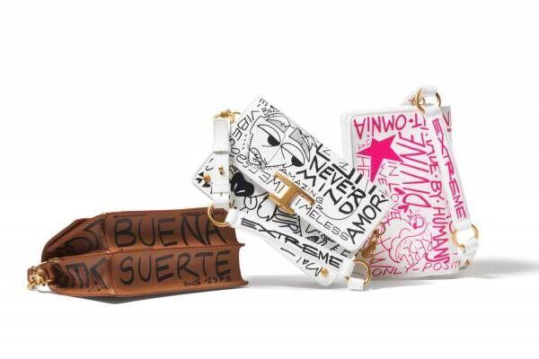 """トッズ""""ストリートアート""""着想のバッグ&シューズ、手描きメッセージ入り「T タイムレス」など"""