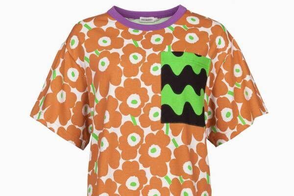 マリメッコ、鮮やかな「ウニッコ」&カモメ柄を大胆にミックスしたシャツやワンピース